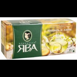 Чай Пр.Ява 25пак имбирь/лайм